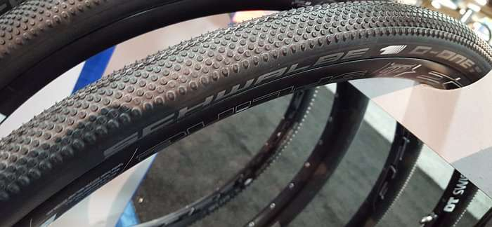 Schwalbe G-One (G for Gravel).