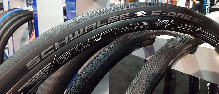 Schwalbe S-One (The Special One) - for Roubaix Racing.