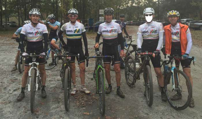 Gravel Cyclist Crew post race.