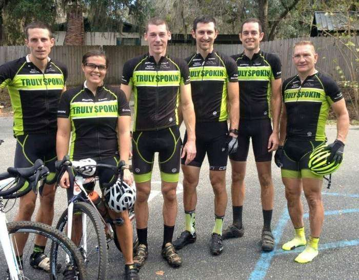 Team Pensacola Off-Road Cyclists.