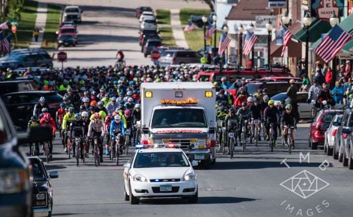 Photo by TMB Images. The Almanzo 100 is underway!