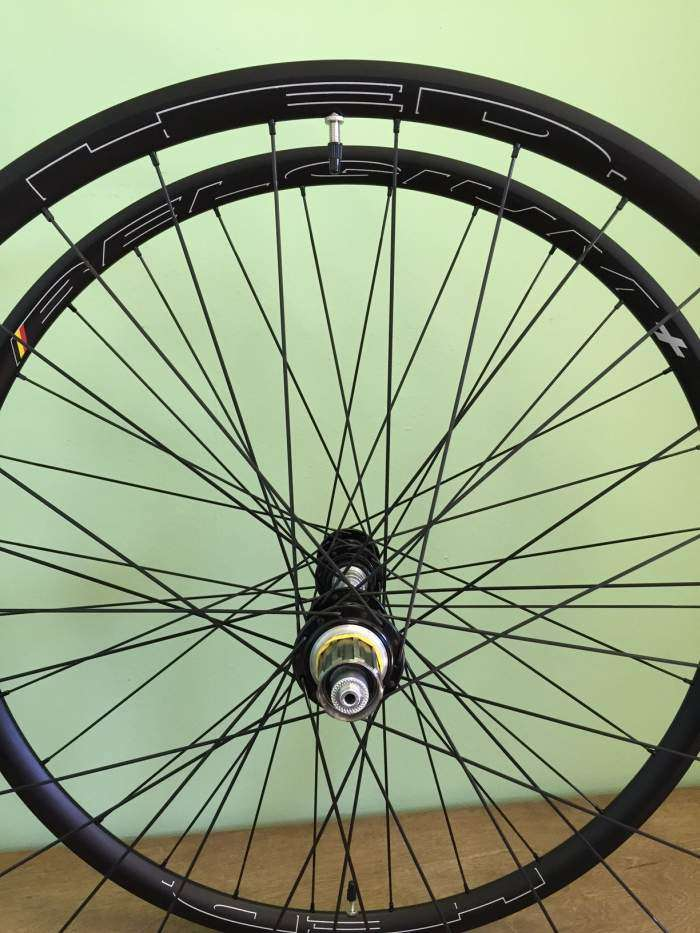 HED Belgium Plus rims are an expensive alloy rim, but they are well made, tough and durable.
