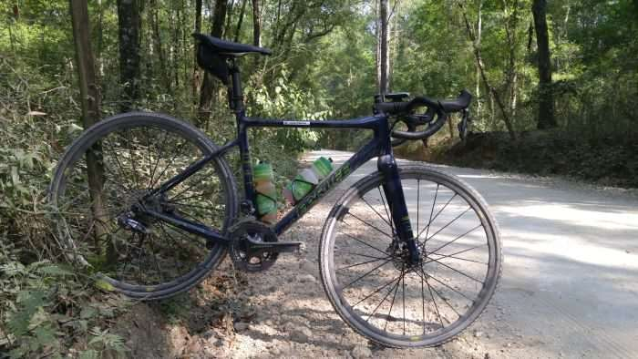 My lovely steed for the day: Parlee's Chebacco.