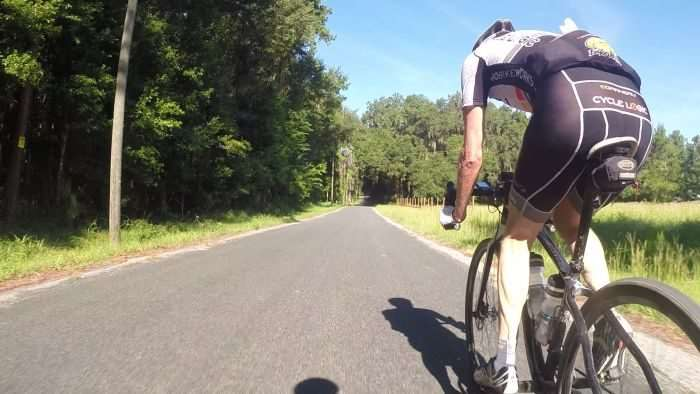 He may be 61yo, but K-Dogg is aero on his Monster CX rig.