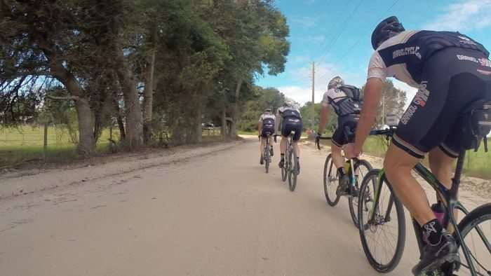 Team Gravel Cyclist at the 2015 Mudcrutch Gravel TTT.