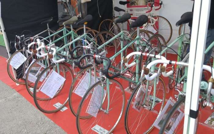 Need a Bianchi? Bianchi was a popular bike at 2016 L'Eroica.
