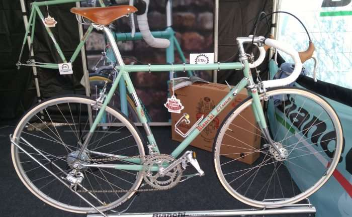 The NEW Bianci L'Eroica edition - Perfect for riding L'Eroica.