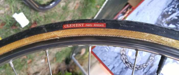 Clement Paris Roubaix for Roger de Vlaeminck.