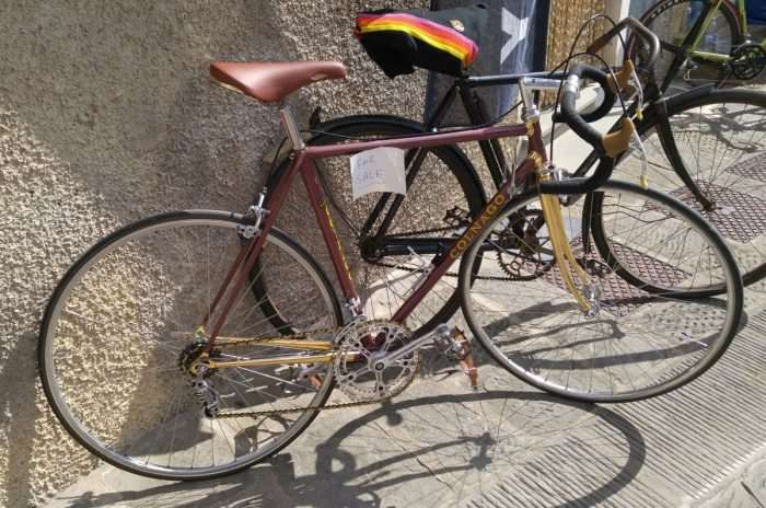 Plenty of lovely bikes for sale during the L'Eroica festival.