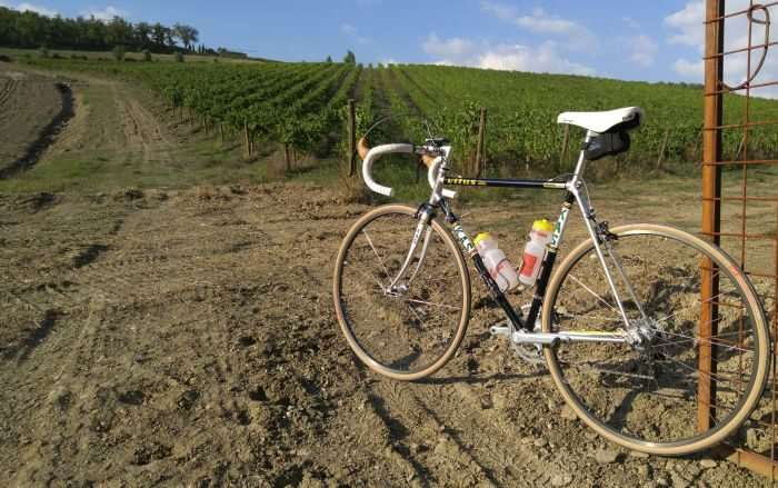 My steed for L'Eroica - Vitus 979.