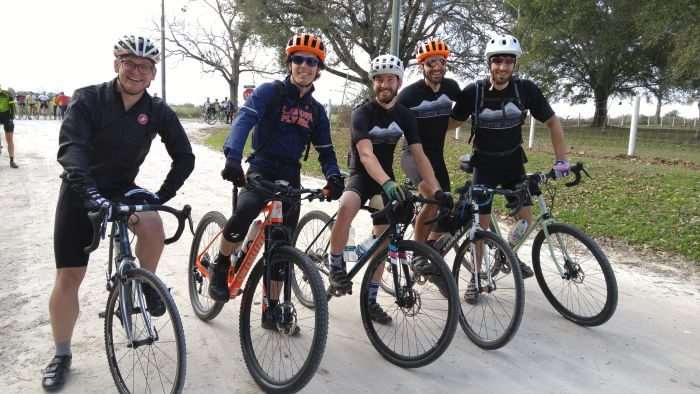 Terra Firma Cycling of Auburn, Alabama. These dudes organize the Standard Deluxe Dirt Road Century, an uber fun, must-do ride.