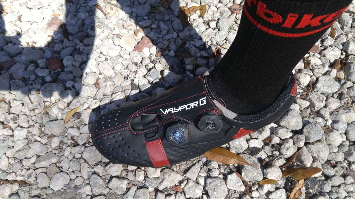 e5447855cf1d Review Bont Cycling Vaypor G Gravel Shoes Lighter Stronger
