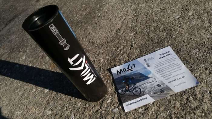 milKit Tubeless Valve and Refill Kit review