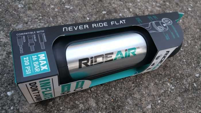RideAir review and weight