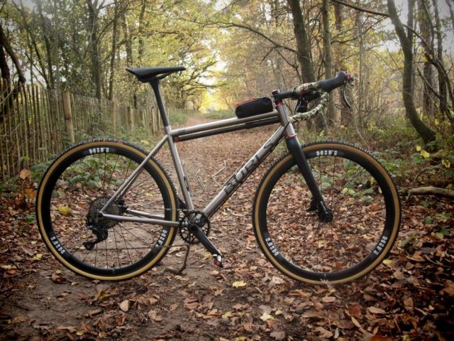 burls cycles titanium gravel bike review