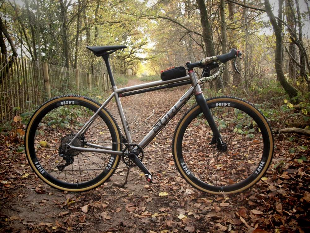 Featured Bike: Burls Cycles PPS Semi-Custom Titanium Gravel/Bike