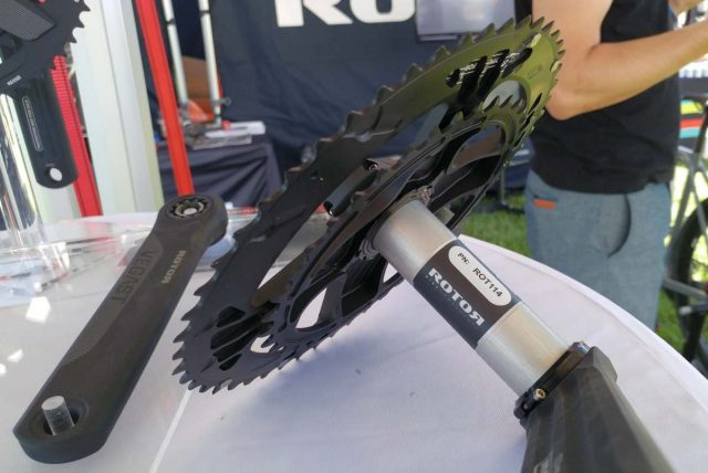 rotor inpower direct mount crankset review