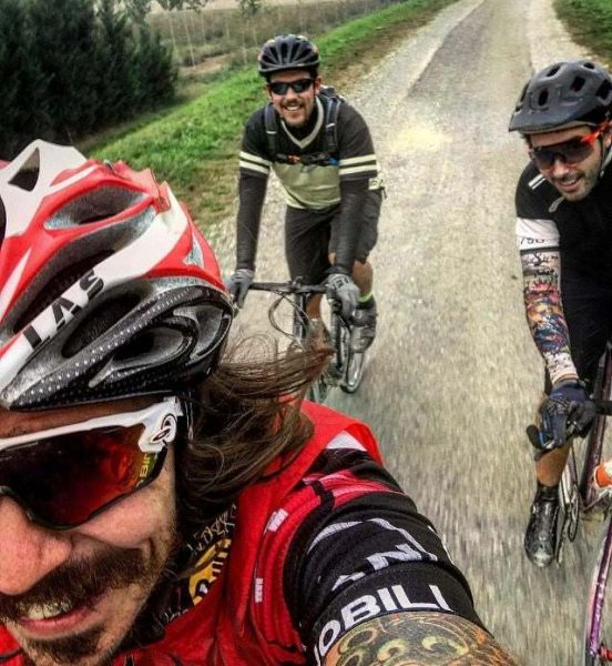 2018 into the gravel parma italy