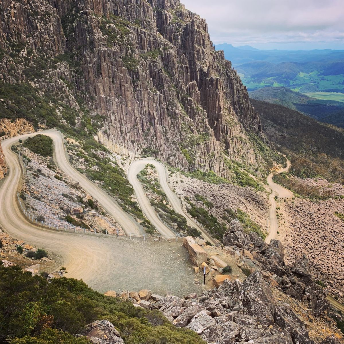 tasmania gravel cycling