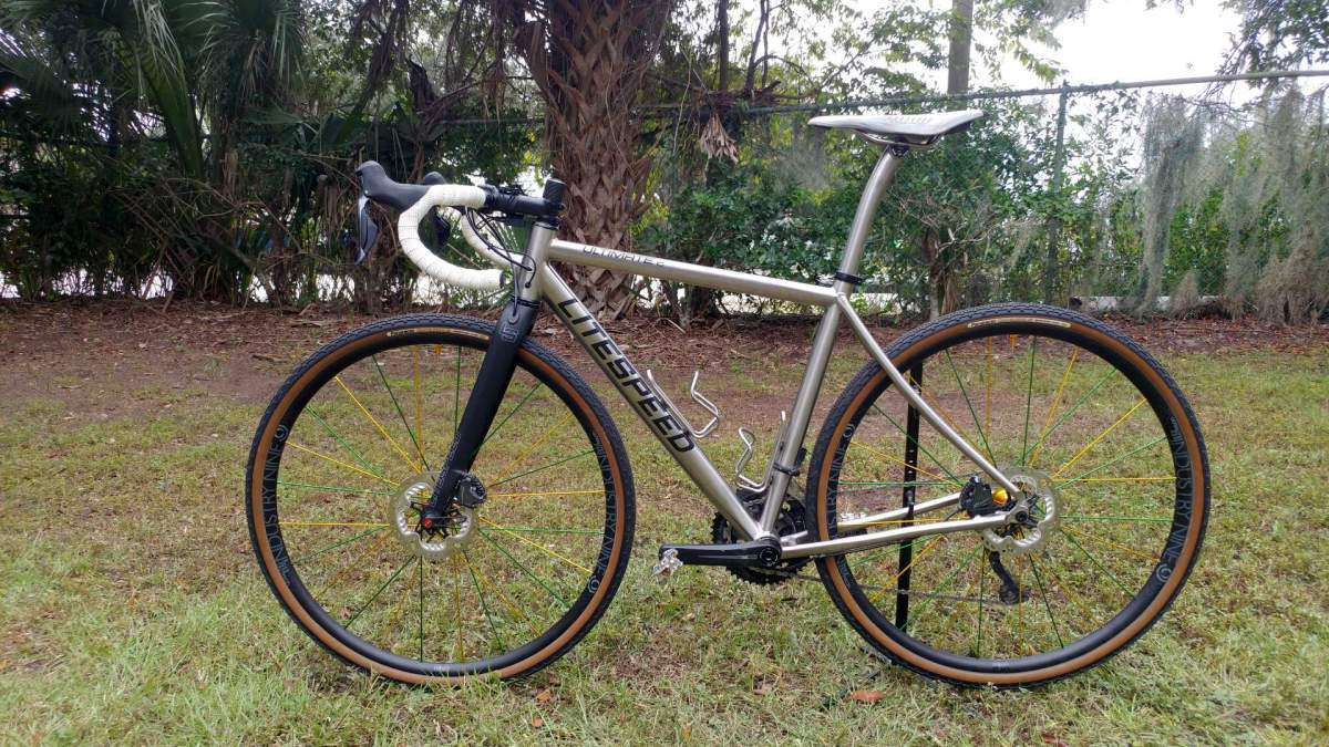 VIDEO REVIEW: Litespeed ULTIMATE Gravel Bike - USA-Made