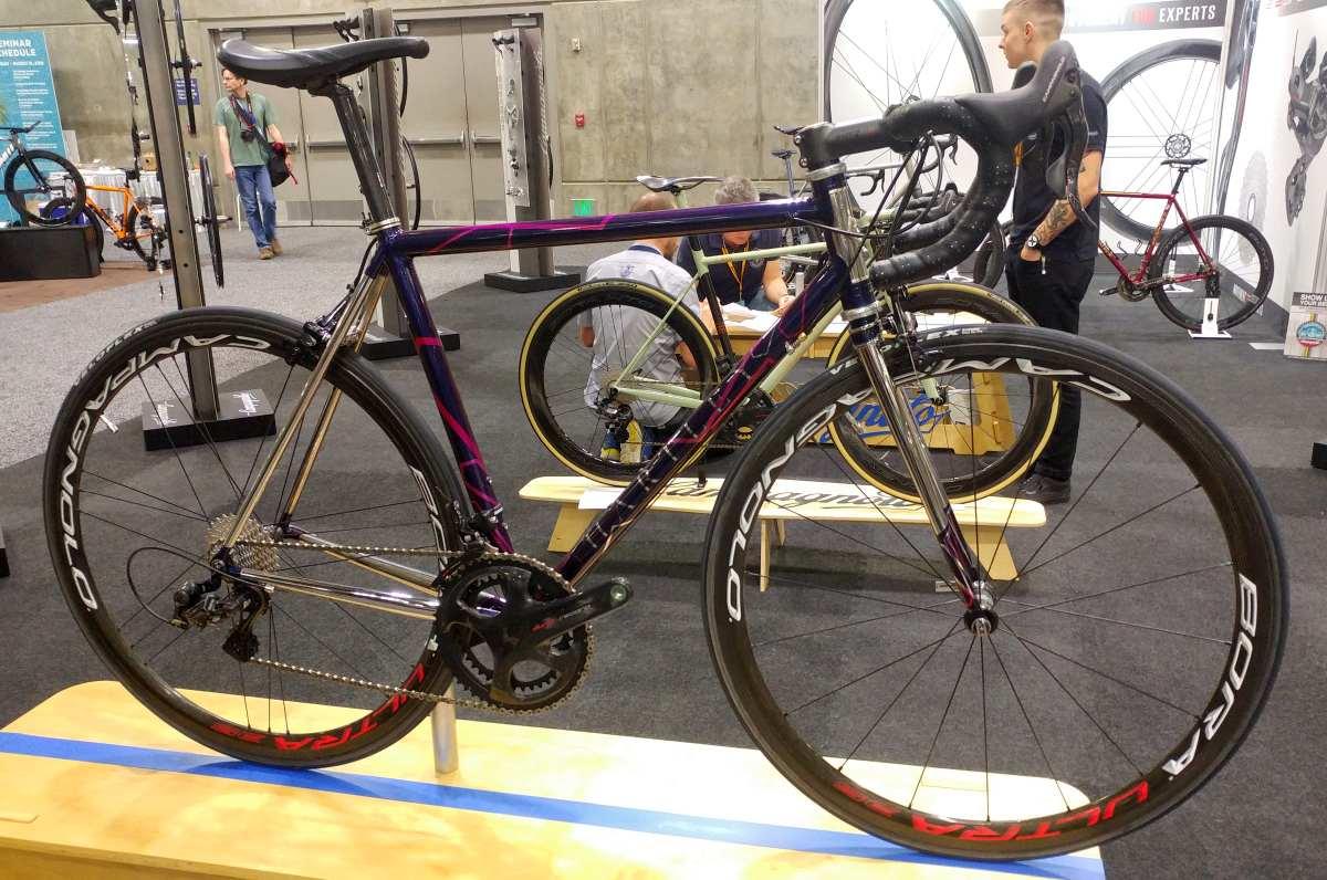hartley cycles stainless steel gravel bike nahbs 2019