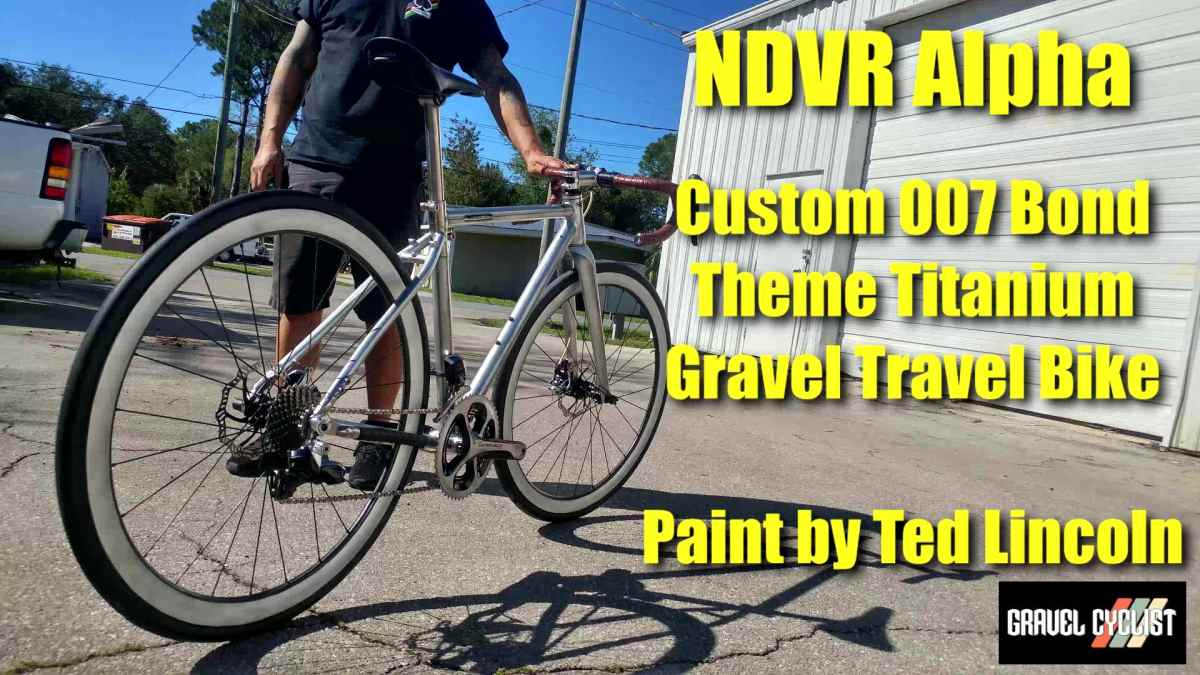 ndvr cycle company alpha titanium travel bike